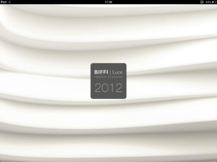 Biffi Luce iPad App. Light touch.